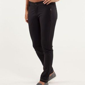 Lululemon Out & About Trouser Casual Pant Black